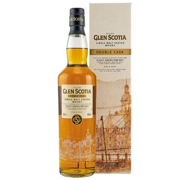 Glen Scotia Double Cask, Single Malt Whisky