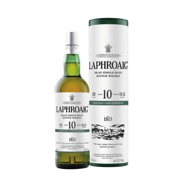 Laphroaig 10 Years Cask Strength 2020 - Limited Edition