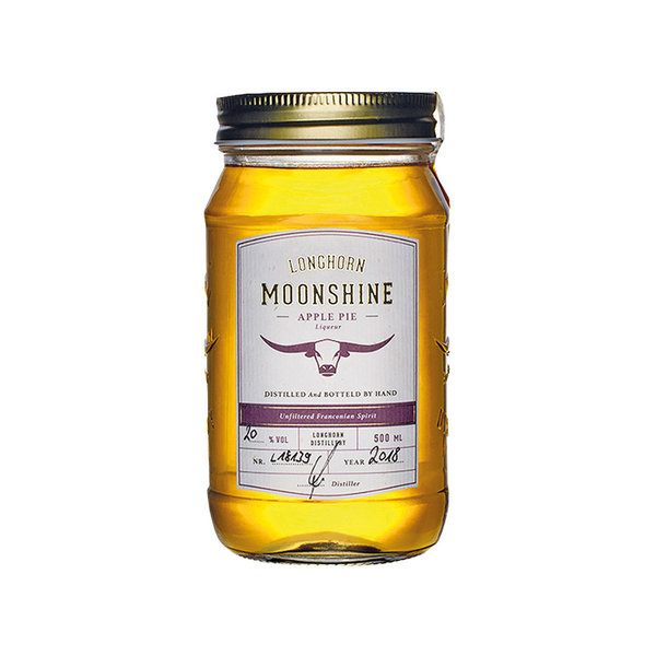Longhorn Moonshine - Apple Pie Likör (500ml)