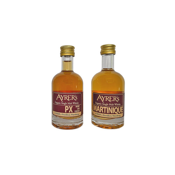 Ayrer´s PX + Martinique Whisky mini Set