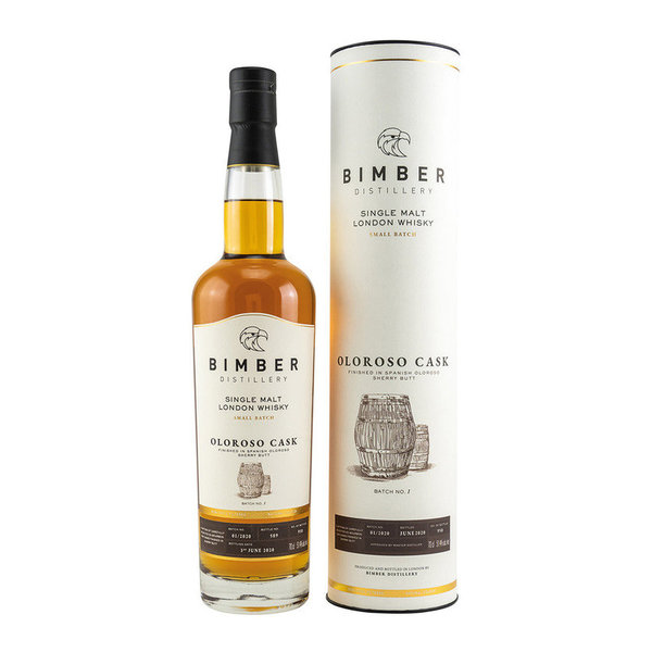 Bimber Oloroso Cask Batch 1 - Single Malt London Whisky