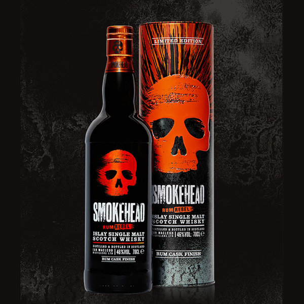 Smokehead Rum Rebel - Islay Single Malt Scotch Whisky