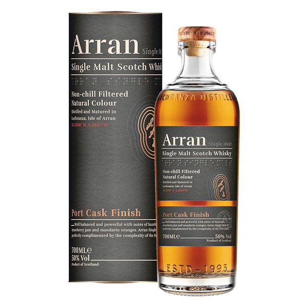 Arran Port Cask Finish - Single Malt Scotch Whisky