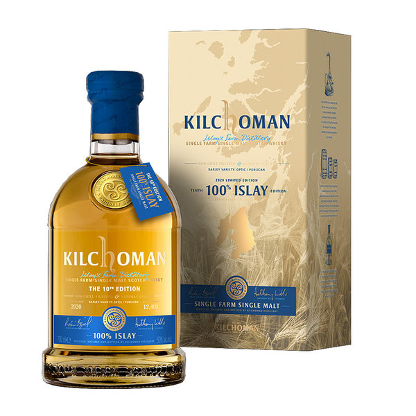 Kilchoman - 100% Islay, 10th Anniversary – Limited Edition