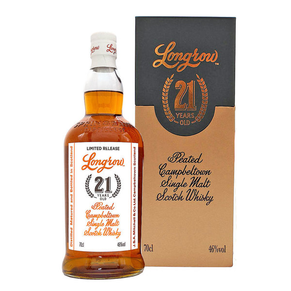 Longrow 21 Jahre Peated Campbeltown Single Malt Scotch Whisky