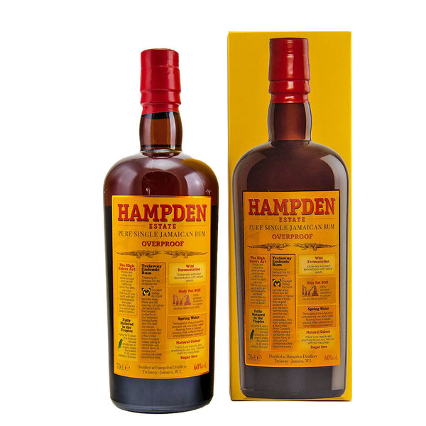 Hampden Overproof Pure Single Jamaican Rum (0,7l)